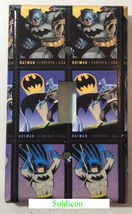 Batman Comics USPS Stamps Light Switch Power Outlet Wall Cover Plate Home decor