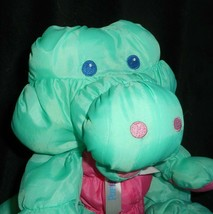 Vintage 1993 Puffalump Fisher Price Verde Caimán Peluche Plush Toy image 2
