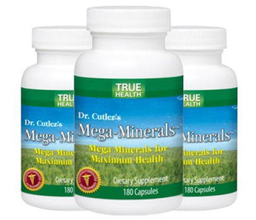 Mega-Minerals - 3 Pack!! - by True Health