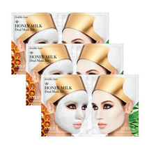 [ Double Dare ] Honey Milk Dual Mask Kit  (3 Sheets) +Free Sample+ - $18.32