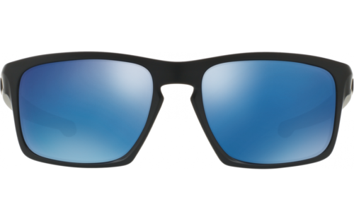 New Oakley OO9262-31 Sliver Sunglasses Matte Black / Ice Iridium Lens Fast Ship