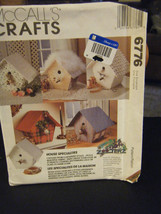 McCall's Crafts 6776 Fabric Birdhouses Pattern - $9.89