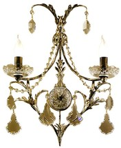 Wall Sconce David Michael Lighting 2-Light Murano Glass - $1,499.00