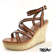 Mossimo Platform Espadrille Wedge Heel Shoes St... - $19.78