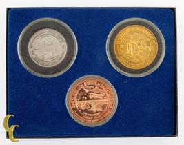 London Bridge Rotary Commemorative Dollars Set of 3 Lake Havasu City - $25.84