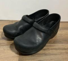 Dansko Women's Black Size 40 Clogs Work Comfort Slip on Shoes - $23.76