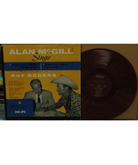 ALAN MCGILL Sings Words and Music by Roy Rogers LP Red Color Vinyl - $10.00
