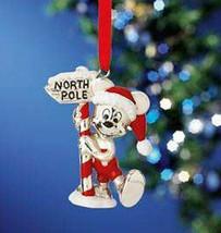 Lenox Christmas Ornament Mickey's Visit to Santa New in Box - $34.65
