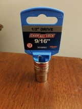 """Channellock 1/2"""" Drive 9/16"""" 12-Point Socket New image 1"""