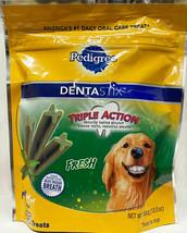 Pedigree DENTASTIX Fresh treats for Large 30+ pound Dogs, 15 treats image 1