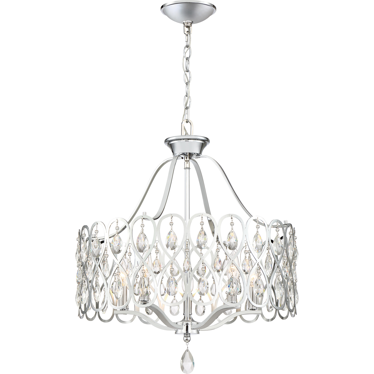 Primary image for Lulu 5-Light Chandelier in Polished Chrome