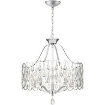 Lulu 5-Light Chandelier in Polished Chrome - $569.99