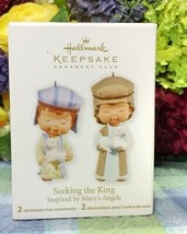 Hallmark Seeking the King ornaments 2011 Nativity - $18.76