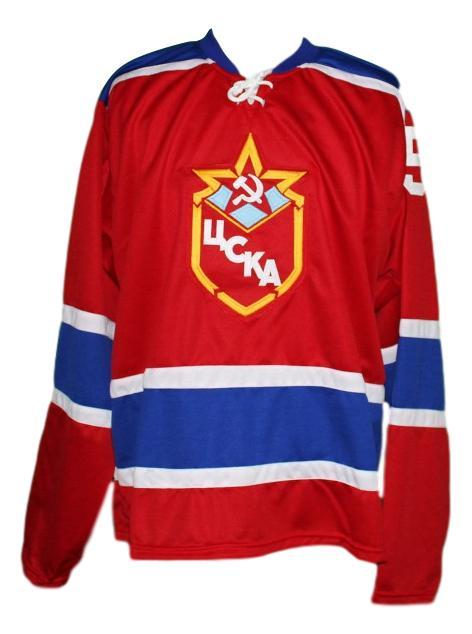 Andrei khomutov  15 russia cccp ussr hockey jersey red   1