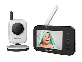 Samsung SEW-3040W SimpleVIEW Baby Monitoring System IR NIght Vision Zoom... - $129.99