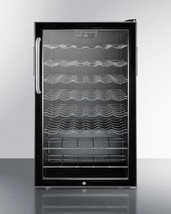 "Summit 20"" Built-in Wine Cellar with Lock & Digital Thermostat Model SWC... - $1,057.80"