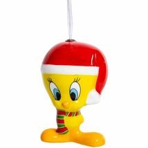 "Hallmark™ cartoon character decoupage ornament Tweety Bird 4"" X 3"" - $12.00"