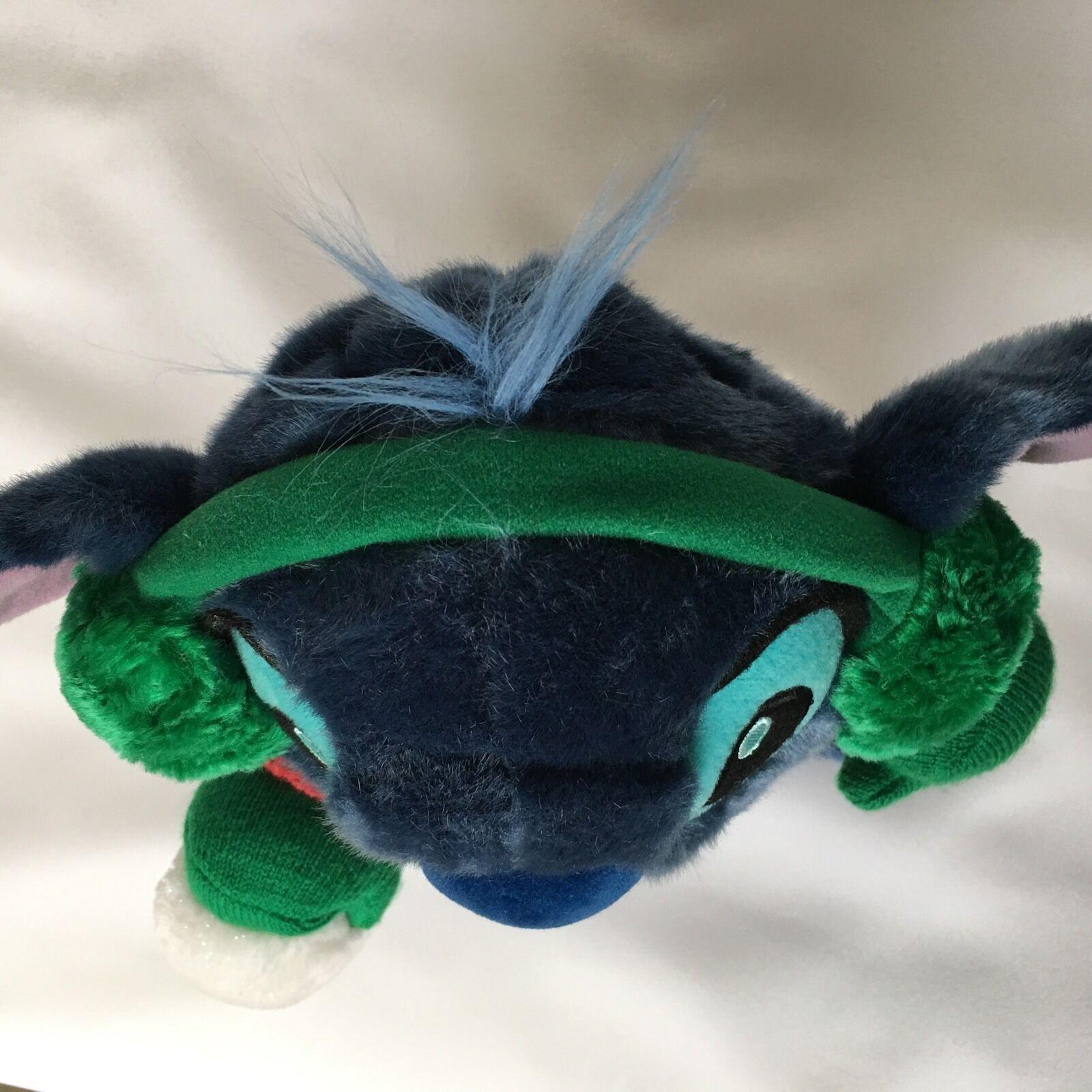 Disney Stitch From Lilo and Stitch Plush Blue Naughty Christmas Stuffed Animal image 7