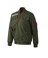 New Adidas Originals Star Wars Han Solo Hoodie Jacket Sweater Olive Coat O58953 - $144.99