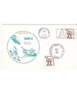 ANIK C LAUNCH & DEPLOYMENT DUAL CANCEL HOUSTON & KSC 11/11-12/1982 POSTCARD - €1,74 EUR
