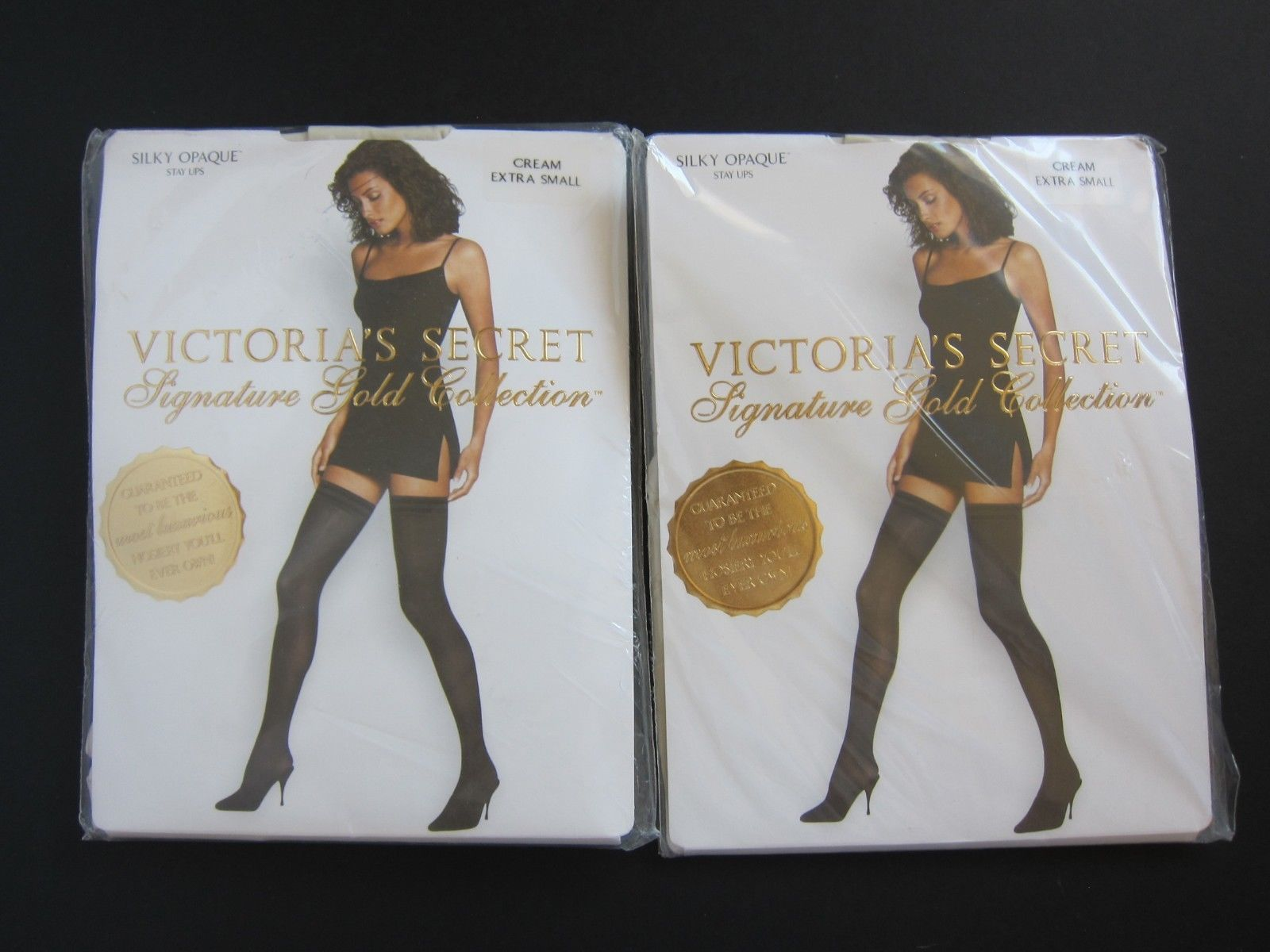 71b84cbd27 2 Victoria s Secret VINTAGE Signature Gold and 50 similar items. S l1600