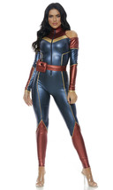 Forplay Space Soldier Superhero Captain Marvel Adult Halloween Costume 559610 image 2