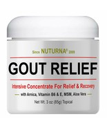 Gout Relief Cream - Clinical Strength Gout Support For Toe Finger Elbow ... - $37.48