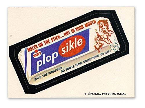 1974 Topps Wacky Packages PLOP SIKLE 5th Series M/NM
