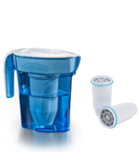 Zerowater 6 cup pitcher with extra two filters - $60.99