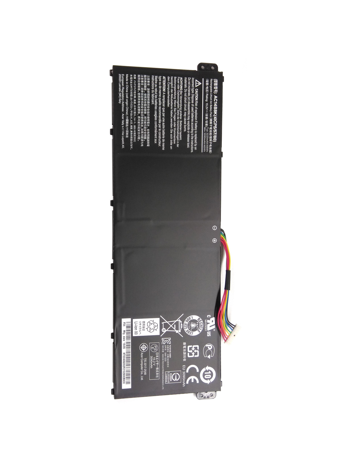 Primary image for Acer Chromebook 15 C910-354Y Aspire E5-731G-P32R E5-771G-57EA ES1-711G Battery