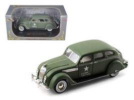 1936 Chrysler Airflow Army 1:32 Diecast Model Car by Signatrure Models - $32.46