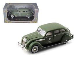 1936 Chrysler Airflow Army 1:32 Diecast Model Car by Signatrure Models - $32.46