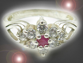 HAUNTED RING SORCERESS OF CLEANSED PROTECTION MAGICK SCHOLARS MYSTICAL TREASURES - $153.89