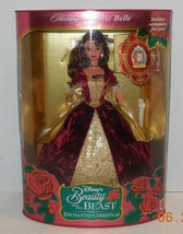 1997 Disney's Beauty & The Beast Enchanted Christmas Holiday Princess Belle Doll - $32.73