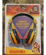 Headphones For Kids Lion King Adjustable Stereo Tangle-Free 3.5mm Jack Wire - $19.79