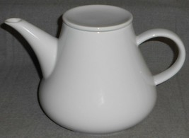 Crate and Barrel KAHLA - 56 oz PORCELAIN WHITE TEAPOT Made in Germany - $39.59