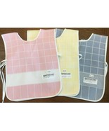Zweigart Double Checked Baby Bib 11 x 13 1/2 11 count Stitch Band Cross ... - $4.95