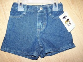 Baby Girl's Size 18 Months Lee Riders Denim Blue Jean Shorts Summer New - $10.00