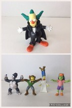 The Simpsons Burger King Tree House Horror Halloween 5 Action Figures To... - $13.99