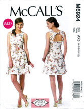 McCall's M6924 Misses Dress Easy Sewing Pattern Close-Fitting Sizes 4-6-8-10-12 - $8.25