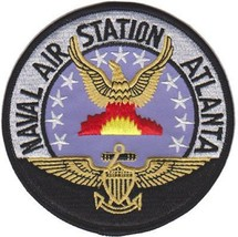 US Navy NAS ATLANTA Air Station Patch NEW!!! @ - $11.87