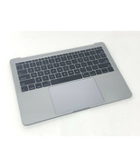MacBook Pro 13 Top Case Assembly A1708 Keyboard Touchpad Battery Gray 66... - $98.99