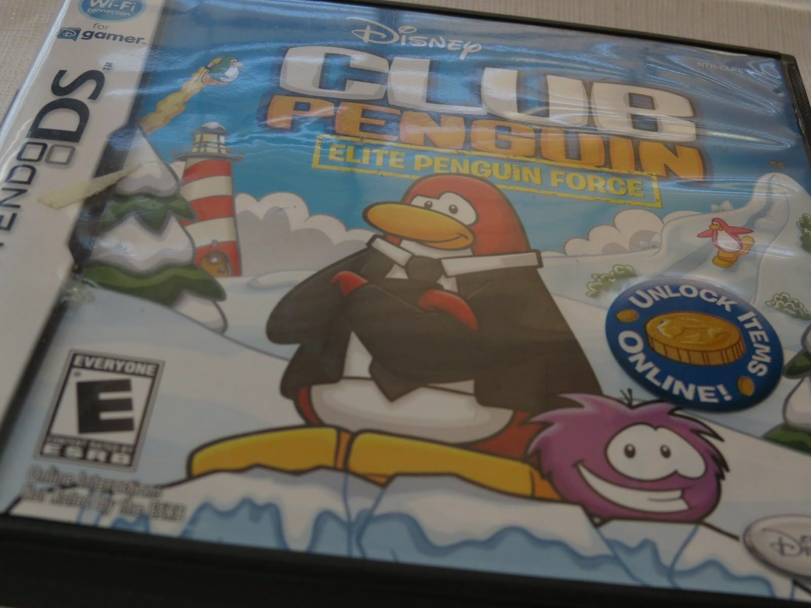 Club Penguin : Elite Penguin Force (Nintendo DS, 2008) Disney Game Boy Everyone