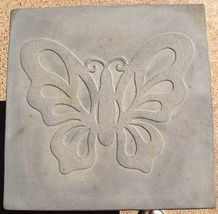 "Butterfly Stepping Stone Concrete Mold 18x18x2"" Make for $3 Each Ships Fast Free image 3"