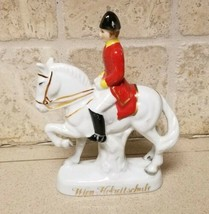 Wien Hofreitschule Levade Lipizzaner Spanish Riding School Porcelain Hor... - $24.24