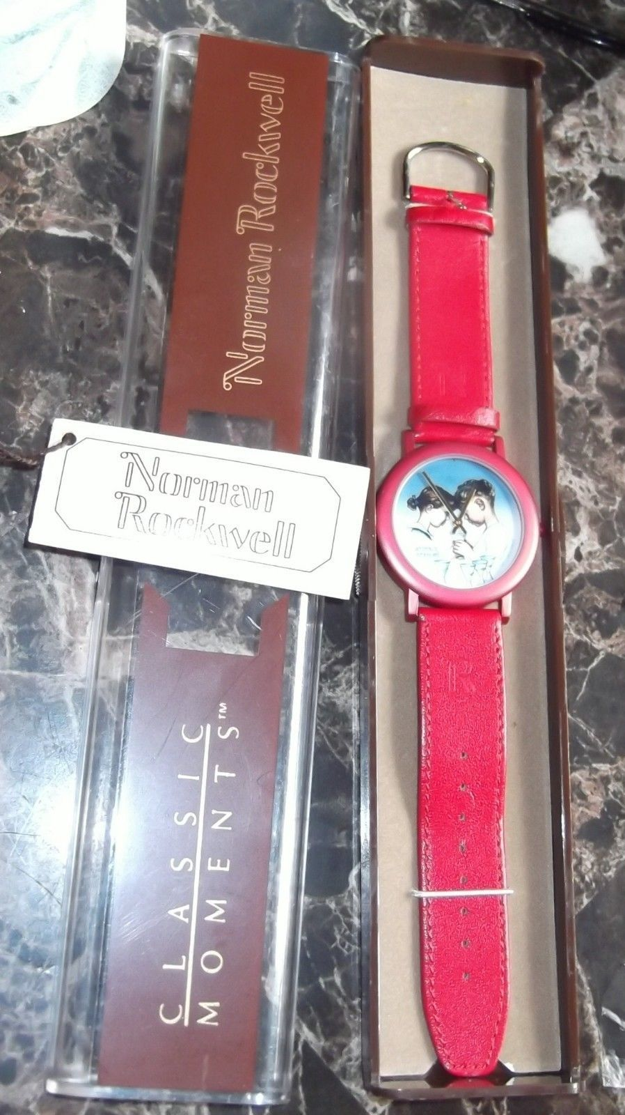 Classic Moments Norman Rockwell Watch