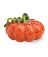 Gallery Glass Pumpkins - Small Glass Pumpkin - Orange with Green Stem - $25.69