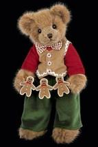 "Bearington Bears ""The Gingerbread Man"" 14"" Plush Bear- #173165 - NWT- 2011 - $59.99"