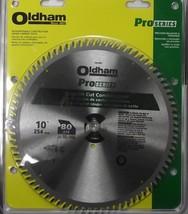 "Oldham 1007280T PRO 10"" x 80 Tooth Carbide Saw Blade ATB USA - $29.70"