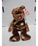TY Champion The Beanie Baby Bear 2002 FIFA World Cup Korea Japan Licensed - $9.89